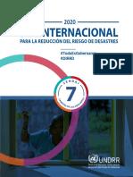 Nota Conceptual Día Internacional para la Reducción del Riesgo de Desastres 2020