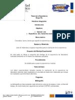 Formato Pre-Informe Laboratorio Fisica II