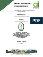 MAPA CONCEPTUAL SOBRE LOS CONCEPTOS BASICOS DE LA MACROECONOMIA