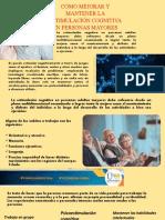 Cómo mejorar y mantener la estimulación cognitiva en personas mayores