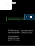 Food and Product Safety Challenges for Brands