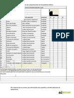 check List transpaleteira
