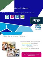 Supply Chain en Unilever. Planificación_ Compras_ Manufactura_ Logística y Customer Service.