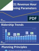 Metro Service Hours Presentation