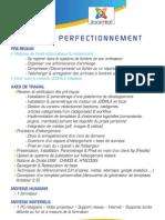 Programme de Formation Joomla Perfectionnement