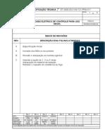 CABO ELÉTRICO DE CONTROLE PARA USO ET - 5140-721-ppm-017_revc_final