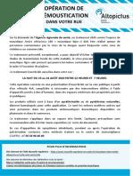 Affiche Démoustication Hossegor