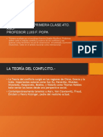 POLEMOLOGÍA PRIMERA CLASE