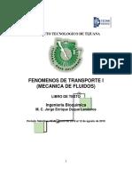 LIBRO FENOMENOS DE TRANSPORTE I
