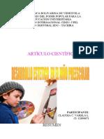 TRABAJO SOBRE DESARROLLO ESTETICO EN EL NIÑO PREESCOLAR.doc