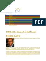 Noticias de economía y finanzas los contribuyentes especiales pymes.docx