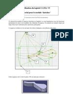 Utilisation du logiciel CATIA V5