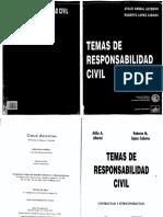 Temas de Responsabilidad Civil - Alterini -Lopez Cabana 2da Edicion 1999