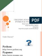 Criando Jogos com Python e Pygame