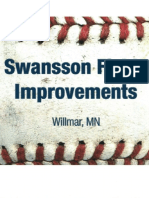 Swansson Field Improvements