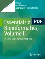 Essentials of Bioinformatics, Volume II