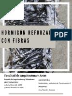 HORMIGON CON FIBRAS