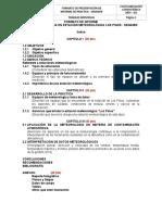 Alvaro Guzmán - Formato de informe Senamhi
