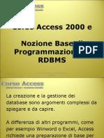 Corso Access Power Point 2003