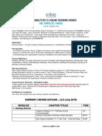 Cognos-Analytics-11.1-Training-Course-Curriculum-Complete
