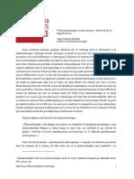 BORDRON, Jean-François. Phénoménologie et sémiotique