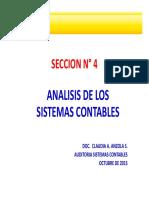 SECCION N° 4 - ANALISIS PROCESO CONTABLE