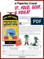 Papertoy Monsters Order Form