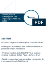 1 Certificcao AES Tiete