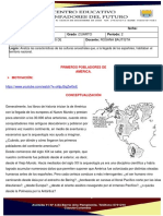 SEGUNDO PERIODO GUIA 1 LOS PRIMEROS POBLADORES DE AMERICA