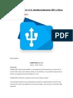 UnHiDER USBFile v4.3.0.0, Desinfecta Memorias USB's y Discos Duros Extraíbles
