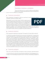 Fundamentos epistemológicos, disciplinares y pedagógicos