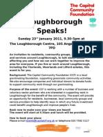 LJAGLoughborough Consultation Event Notice