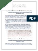 Geografía Turística Dominicana, noticias5