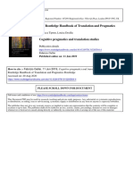 Translation and Pragmatics