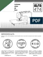 manual alfa 474