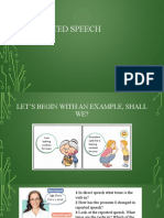 Double click 3 - Unit 8 Reported Speech