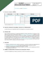 CORRIGE - Plan para la vigilancia, prevención y control de Covid-19 en el trabajo - Clientes VF-RevSSOMA de Irene Espinoza