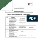 """Equipos de Trabajo  Sesiones Activas y Tareas """"Anatomía y Fisiología I"""""""