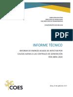 Informe EDI Nº-098 Abril 2020