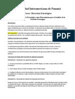 Taller No 3 - El FODA Estratégico y la Posición Estratégica de la Empresa.docx