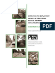Estimating the Employment Impacts of Pedestrian, Bicycle, and Road Infrastructure - Case Study