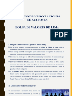 PROCESO DE NEGOCIACION DE ACCIONES