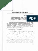 ANDRADE O centenario de Alba Valdez(sd,8p)