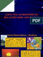 Aspectos astronômicos relacionados à gênese dos climas 1