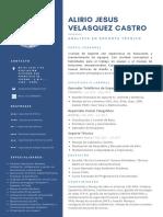 ALIRIO JESUS VELASQUEZ CASTRO