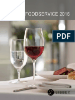 Libbey China Foodservice 2016 Catalog