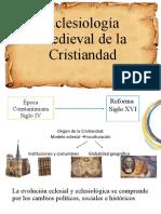 Eclesiología Medieval de la Cristiandad