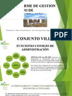INFORME DE GESTION CONSEJO DE ADMON