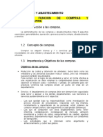 Clase de compras y abastecimiento en español