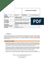 Diplomado en Diseño y manufactura de Joyería utilizando tecnologías de prototipado FDM y Estereolitografía